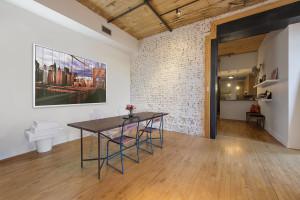 138 Broadway, dining area, dining room, williamsburg, studio loft