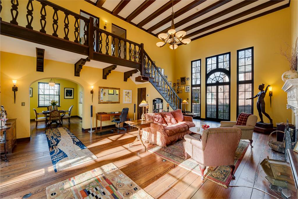 this 1 95m mediterranean revival home in historic fieldston holds