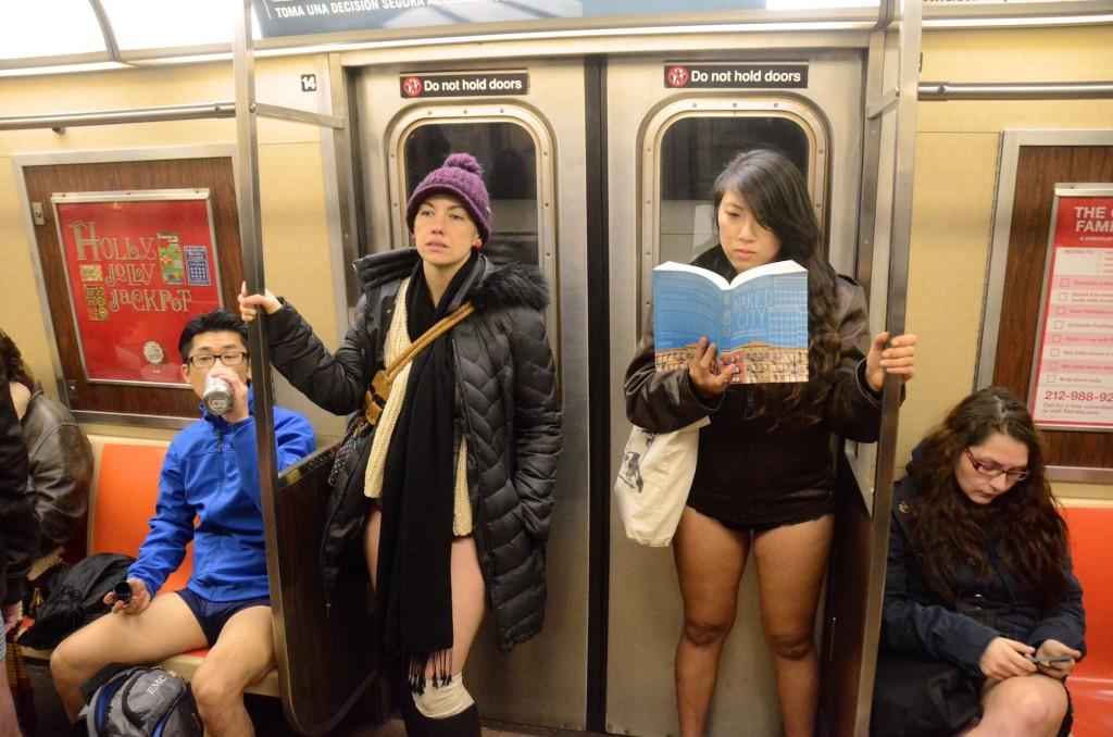 No Pants Subway Ride-6