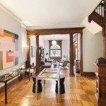 857 Carroll Street, staircase, park slope townhouse, matthew blesso