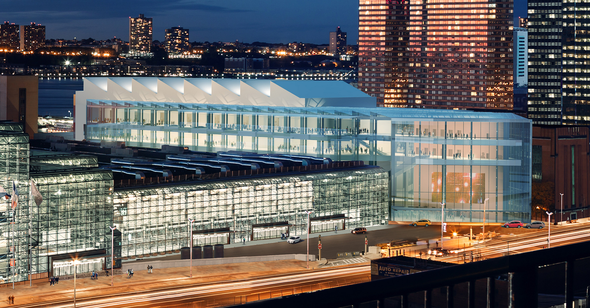 Bus station beneath Javits Center proposed in new plan to fix cross-Hudson commuter hell