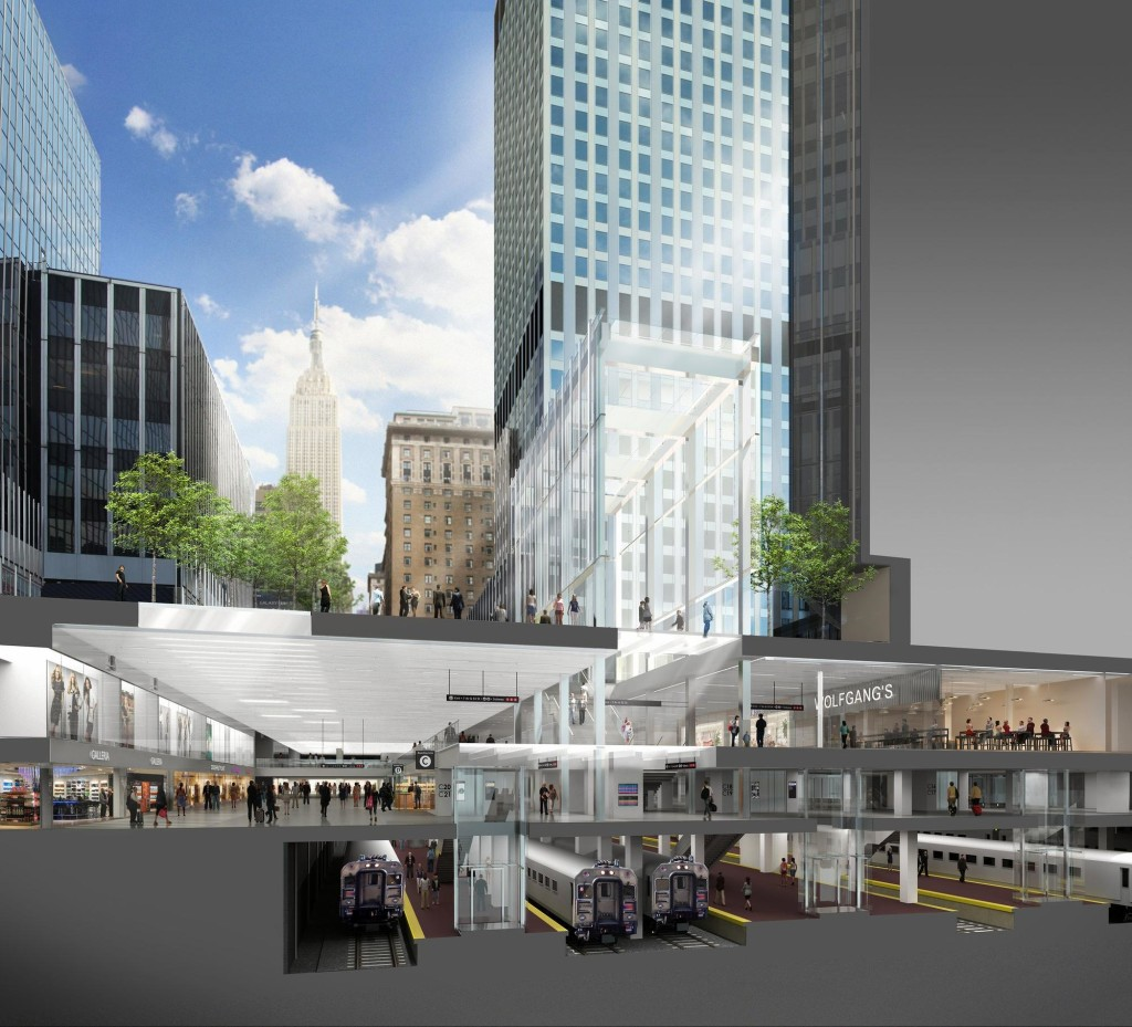 Empire Station Complex, Penn Station overhaul, Moynihan Station, Governor Cuomo