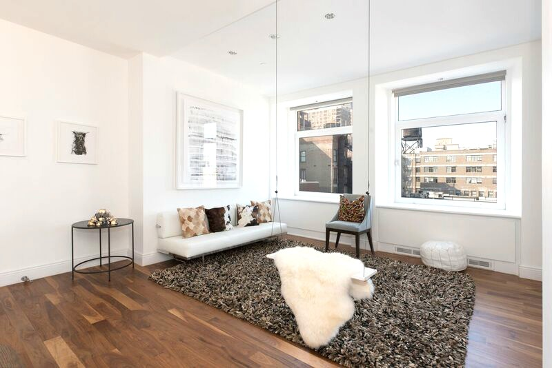 14 East 4th Street, penthouse apartment, living room, dining room, Britney spears