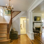 40-27 166th Street, entryway, colonial house, flushing