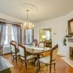 40-27 166th Street, dining room, fireplace, flushing, queens house