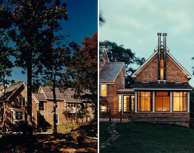 Designing this shingle style home in east hampton was a for Architects nw