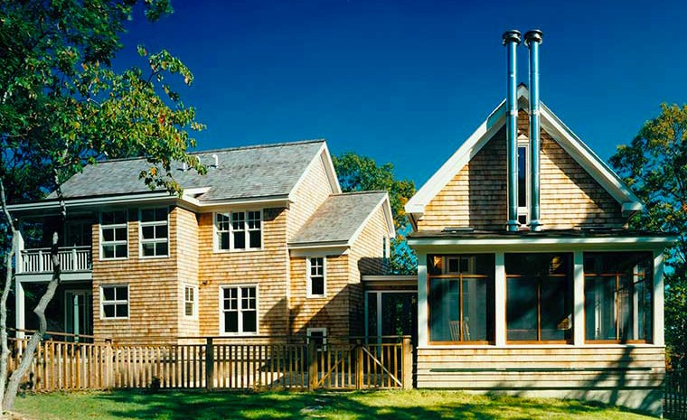 Designing this shingle style home in east hampton was a for Architects hampton