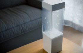 Ken Kawamoto, weather device, Tempescope, Visualize Tomorrow's Weather With Tempescope, DIY, weather forecast, OpenTempescope, LED light