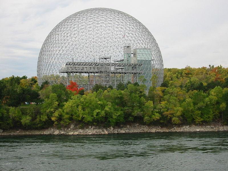 Buckminster Fuller Manhattan Geodesic Dome, Montreal biosphere