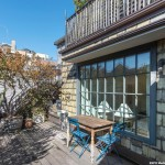 49 West 9th Street, patio, outdoor space, private patio