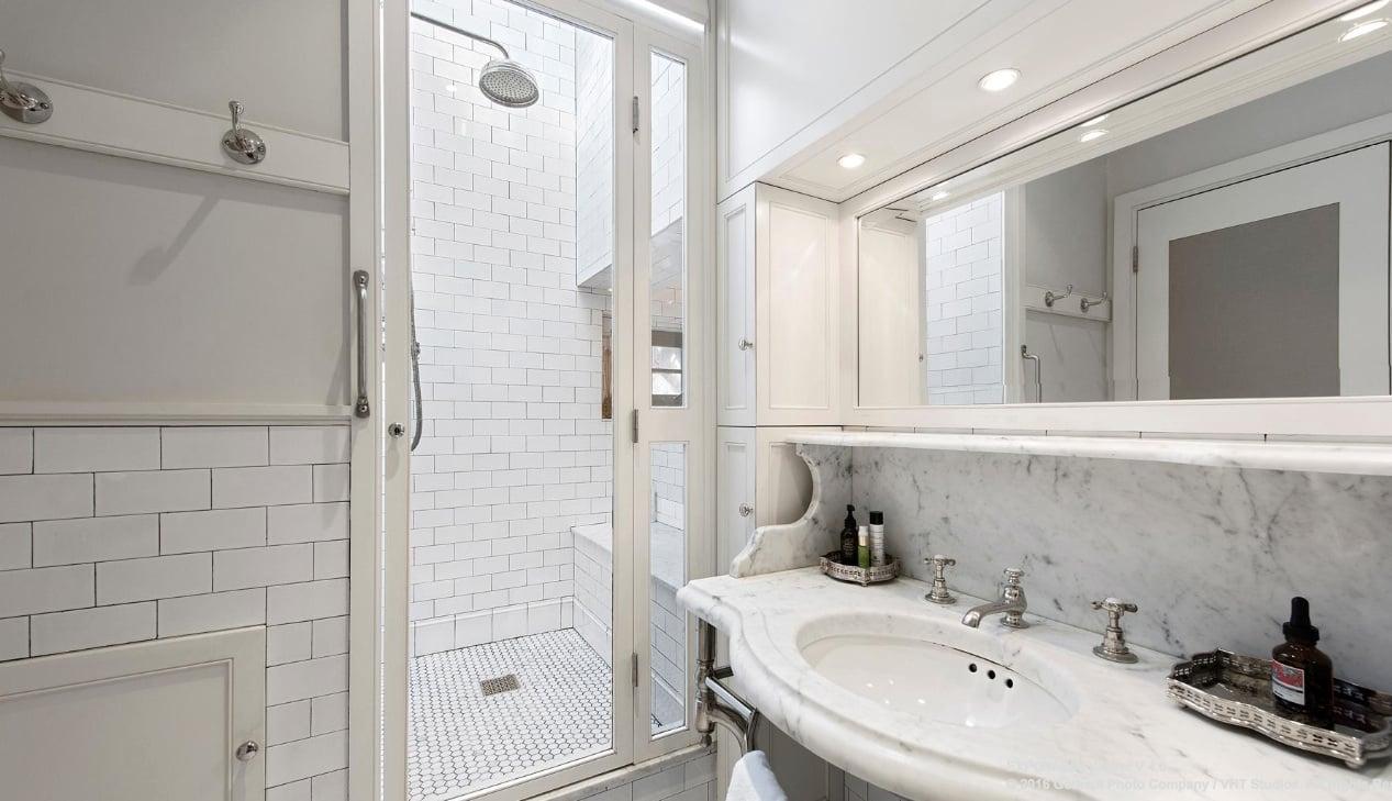 49 west 9th street, master bathroom, co-op
