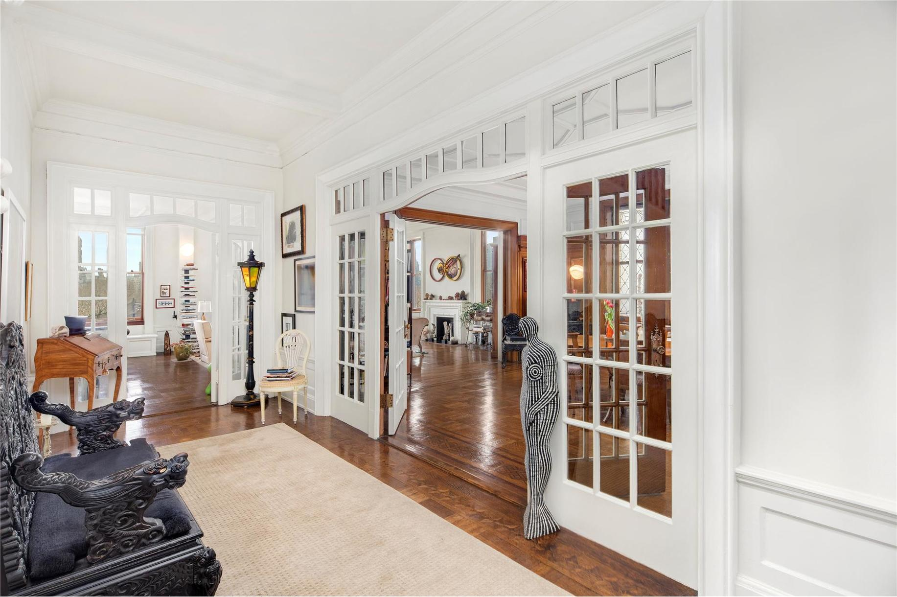 this $18m prewar co op is the kind of apartment that invented