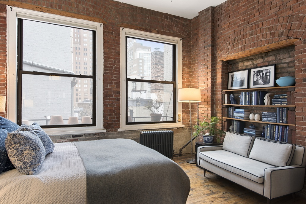 81 grand street, bedroom, loft, soho