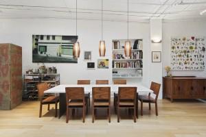 81 Grand Street, dining room, soho, loft