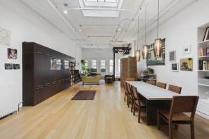 81 grand street, dining area,