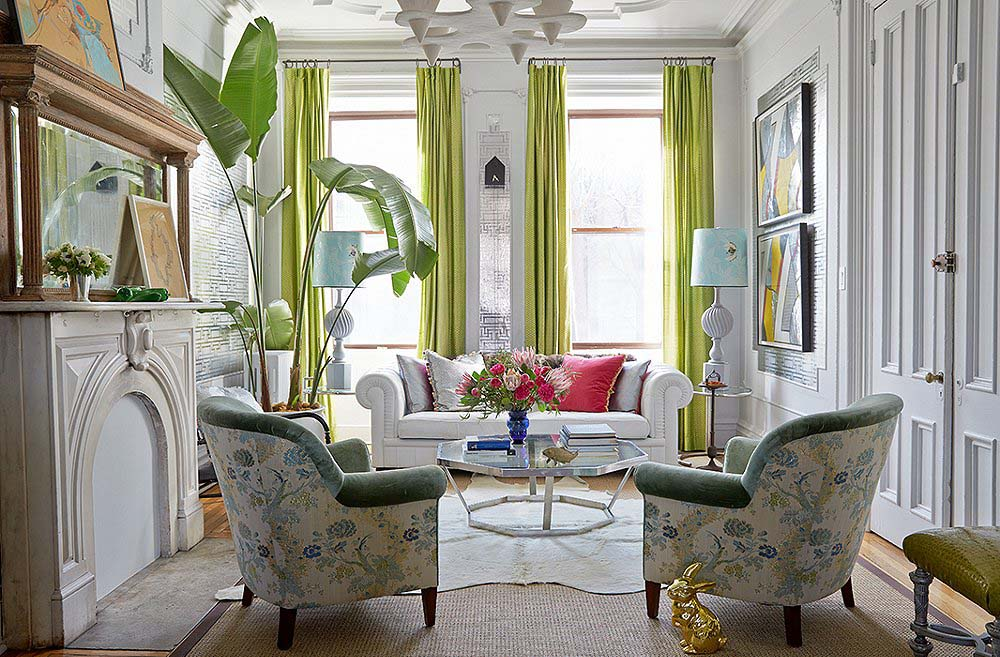 Designer Fawn Galli S Carroll Gardens Townhouse Is