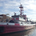 NYC fireboat auction, John McKean, FDNY boat, houseboats,