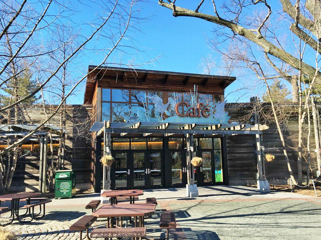 crane cafe bronx zoo