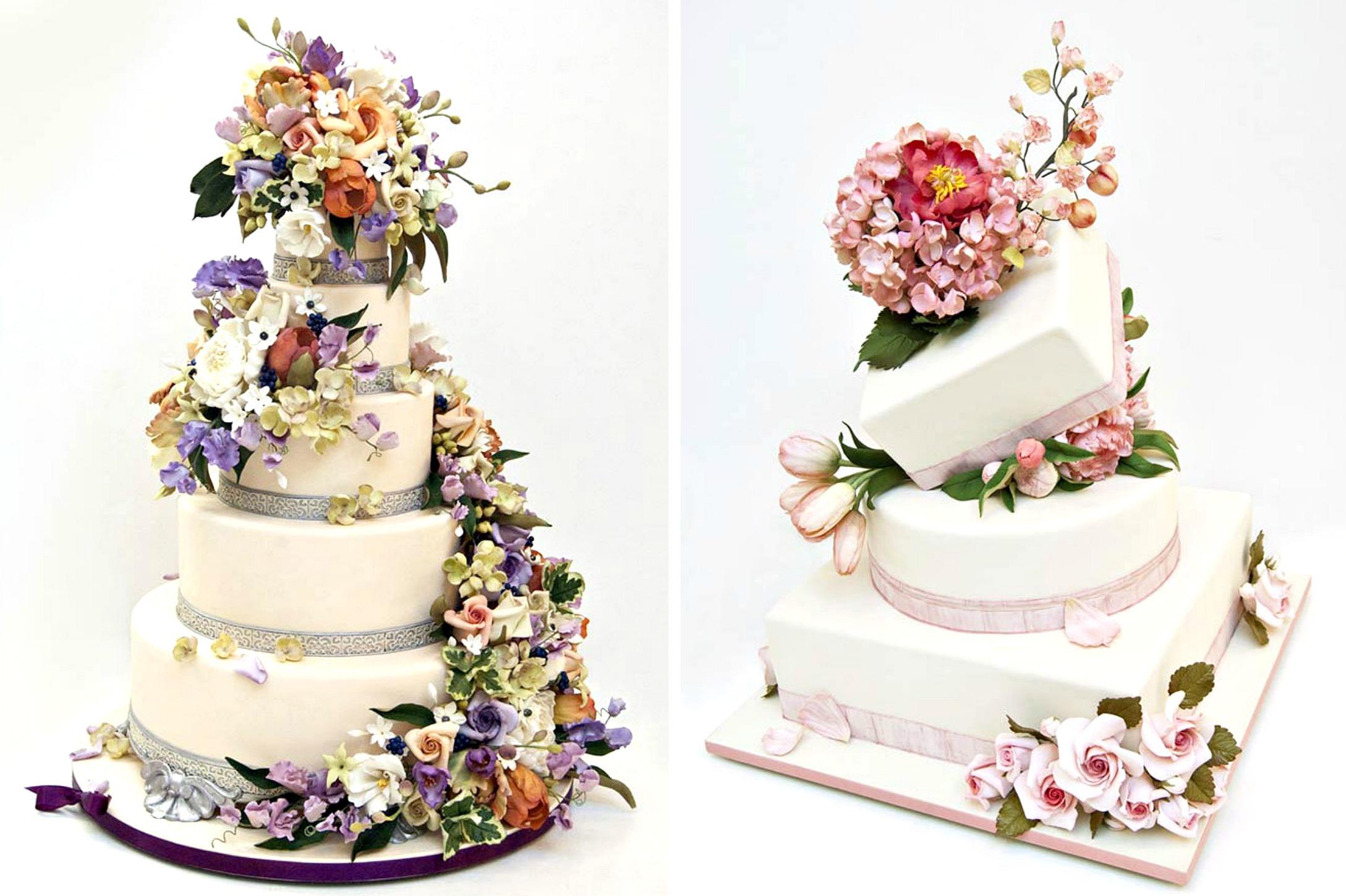 Do Wedding Cakes Have Writing On Them