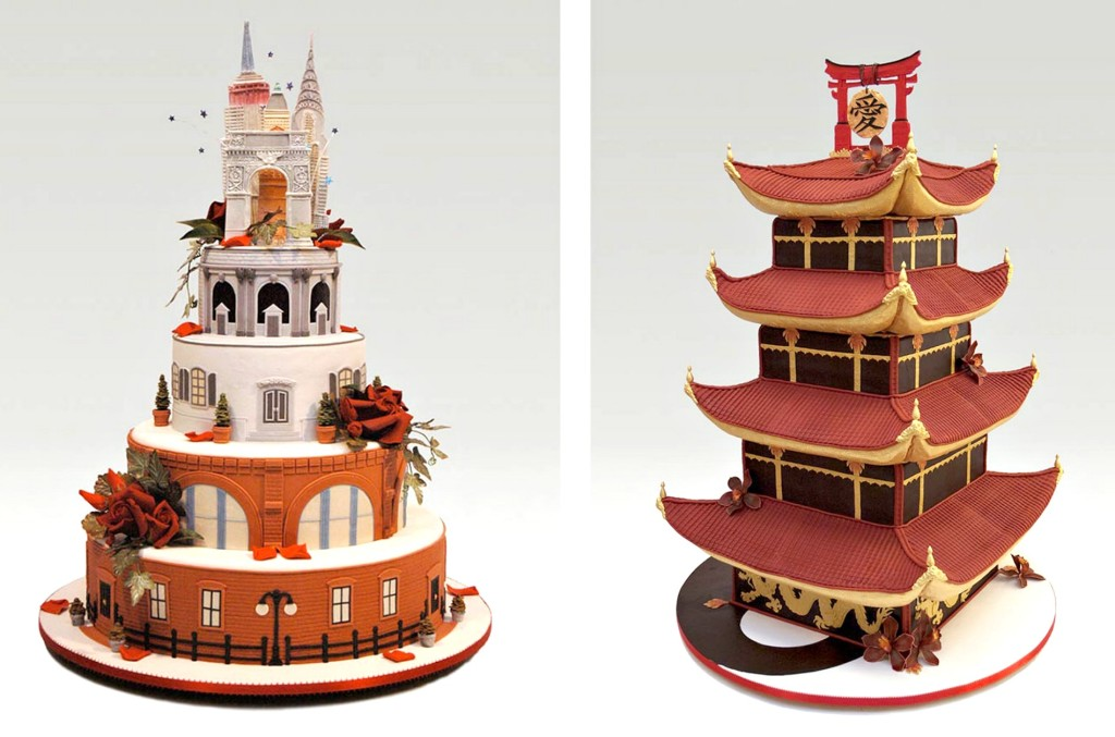 Ron Ben-Israel architectural cakes
