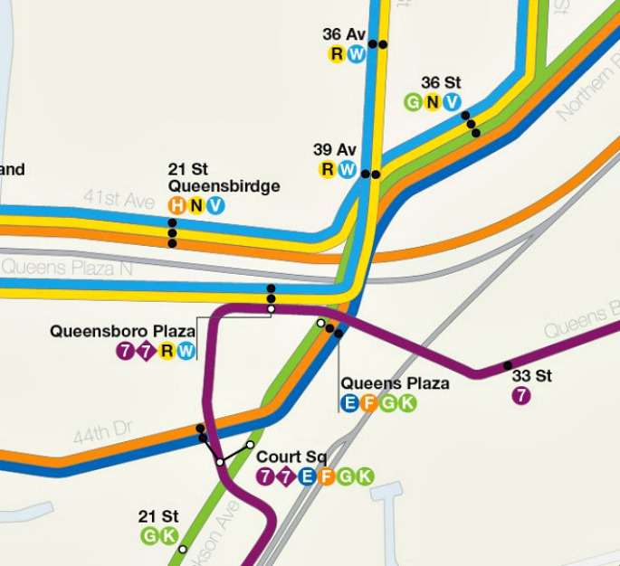 Subway Map D Train.Dream Subway Map Includes A 10th Avenue Subway And A Path To Staten