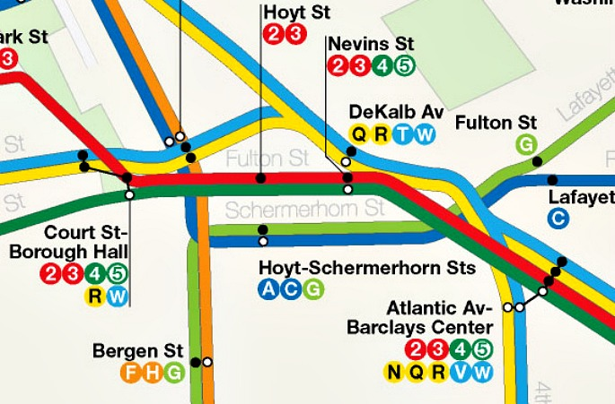 Subway Map Nyc Nj.Dream Subway Map Includes A 10th Avenue Subway And A Path To Staten