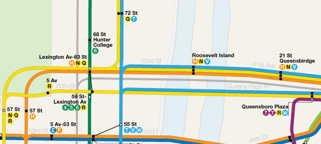 Q Line Subway Map.Dream Subway Map Includes A 10th Avenue Subway And A Path To Staten