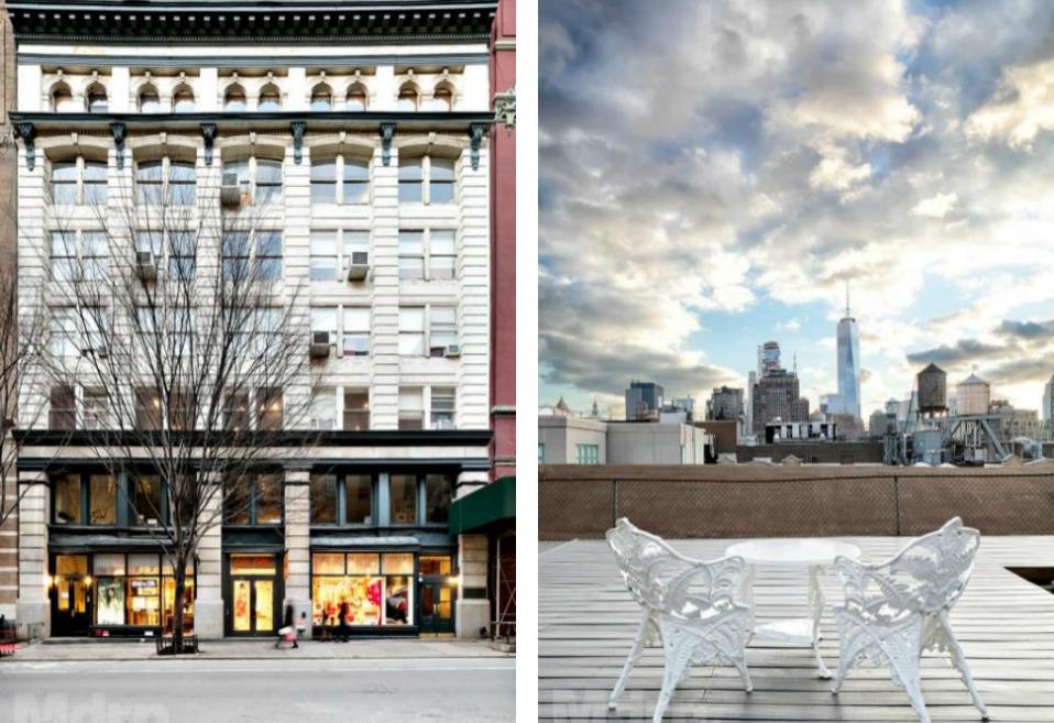 131 Prince Street, Soho, Loft, Cool listing, duplex, Manhattan loft for sale