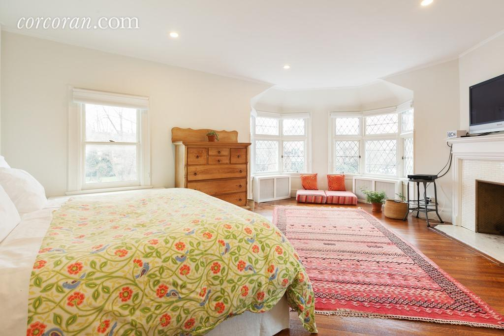 112 Marlborough Road, master bedroom, victorian, ditmas park