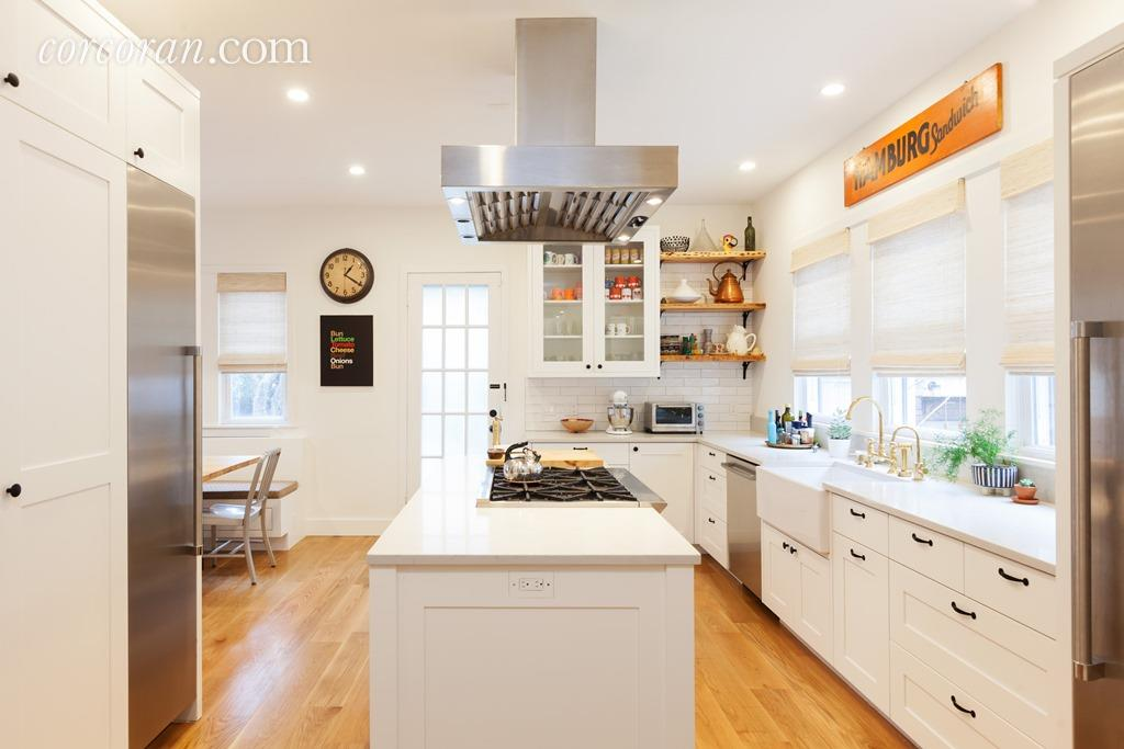 112 Marlborough Road, kitchen, victorian, ditmas park, dining room,