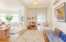 112 Marlborough Road, living room, victorian, ditmas park
