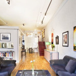 123 prince street, living room, soho