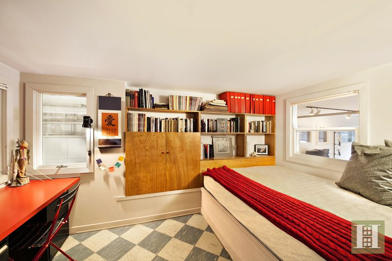 123 prince street, loft, lofted bedroom, soho, 123 prince street