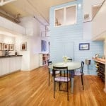 soho, loft, dining room, 123 prince street, full-floor loft