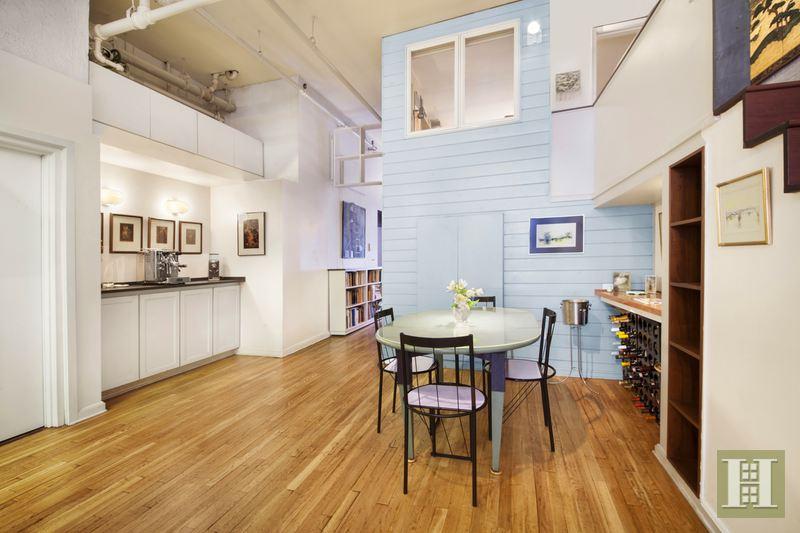 soho, loft, dining room, 123 prince street, full-floor loft