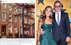 sarah jessica parker, matthew broderick, 273 west 11th street, 275 west 11th street, nyc celebrity real estate, dolly lenz