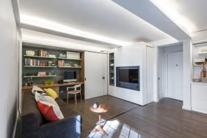 5:1 Apartment, MKCA, Michael Chen Architects, tiny apartments, NYC micro housing