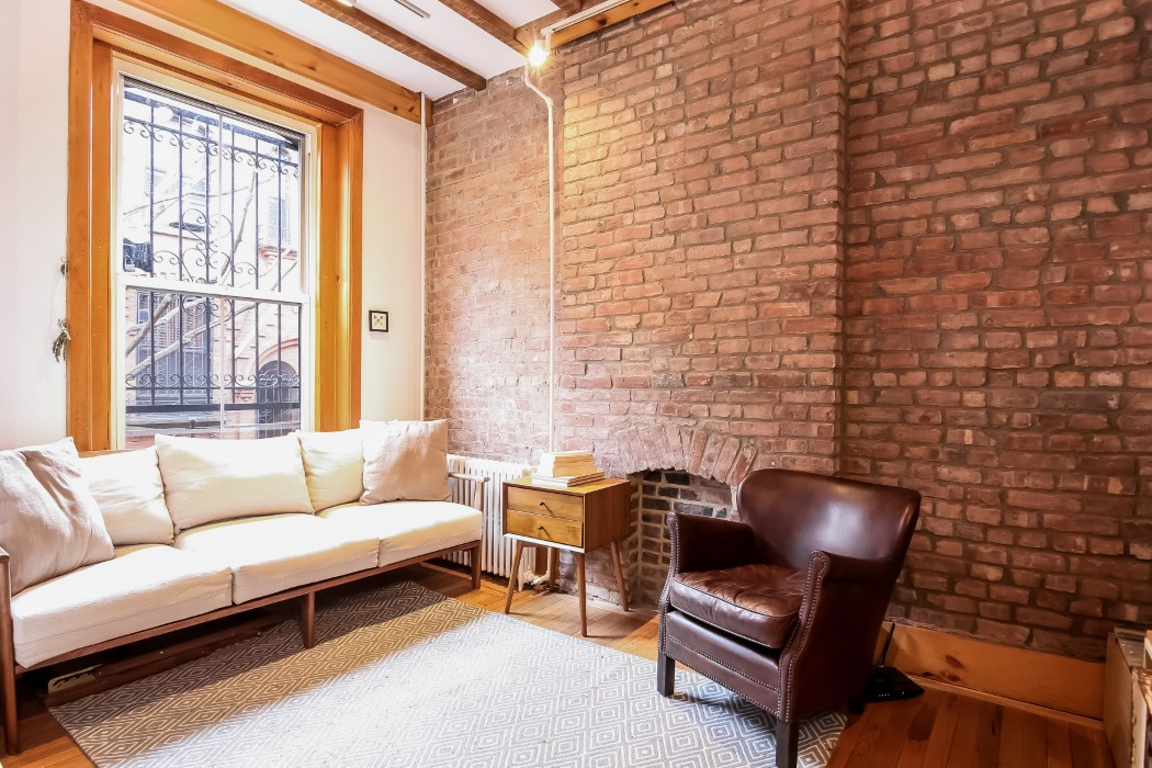 8 warren place, living room, warren place mews, cobble hill