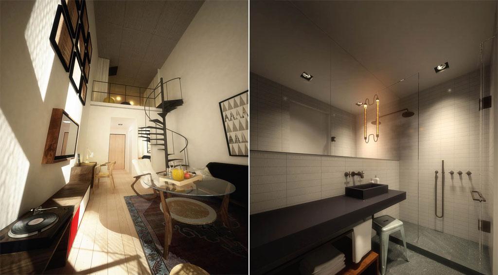 500 Metropolitan Avenue, Renders, Raad Studio
