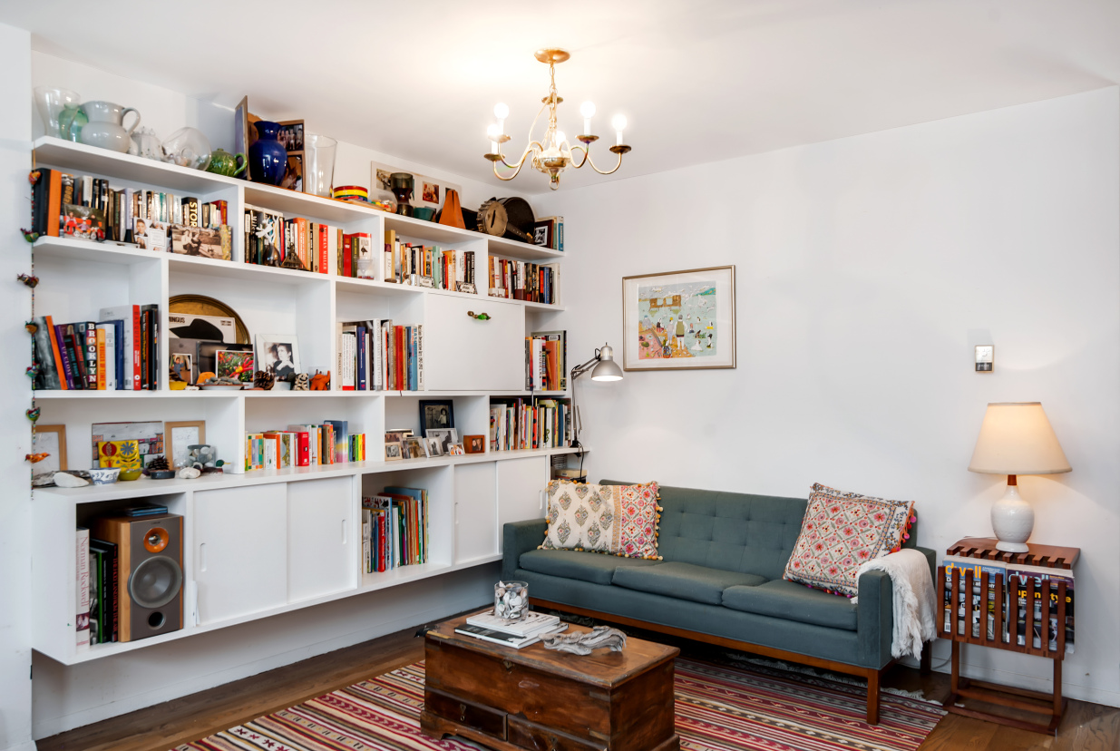 211 berry street, living room, condo, williamsburg
