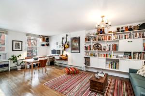211 Berry Street, condo, williamsburg living room, dining room