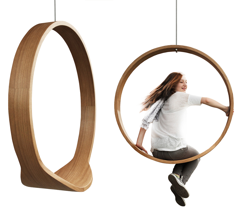 Superieur Circle Swinging Chair Brings Your Childhood Playground Inside The Office