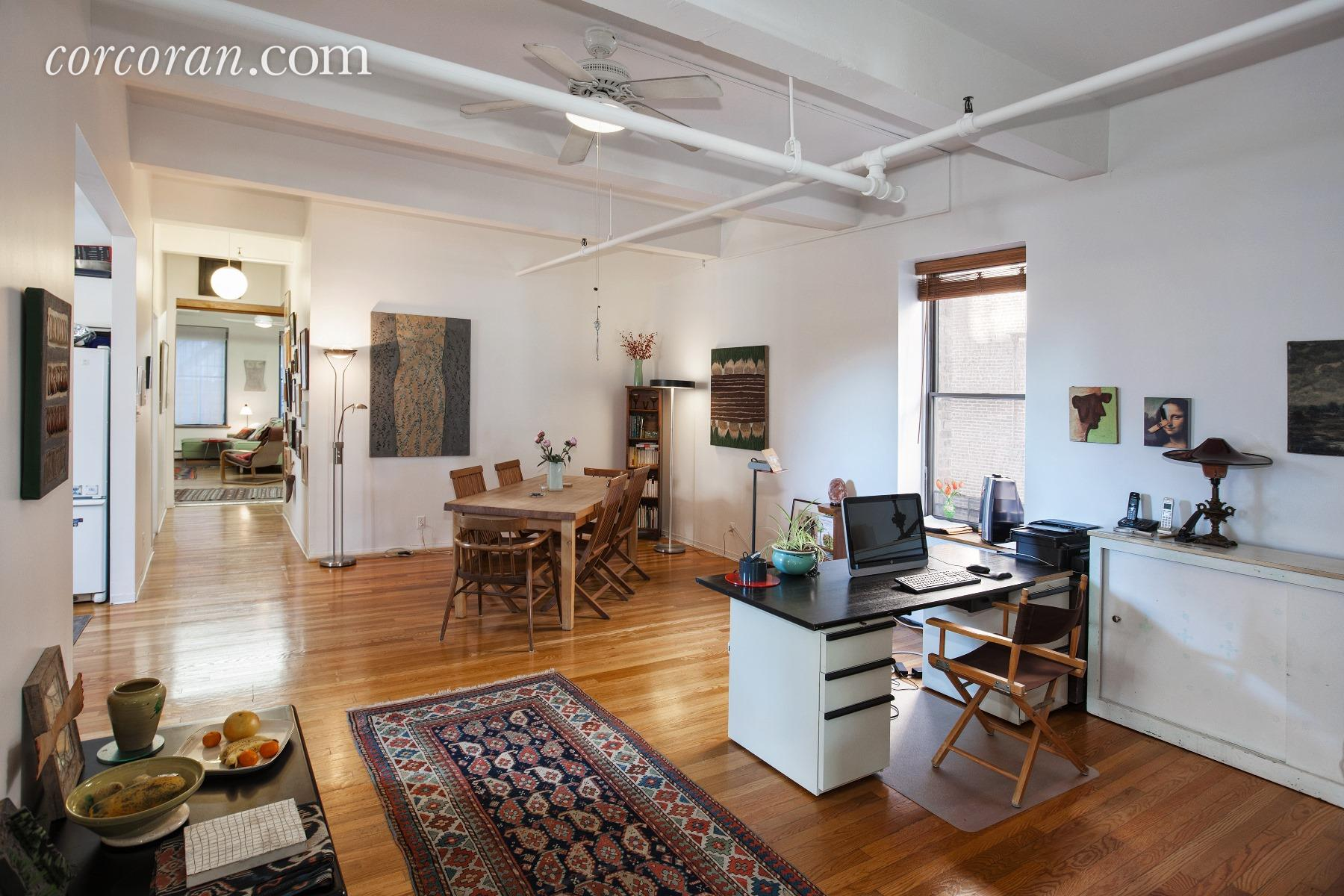 55 great jones street, dining room, loft