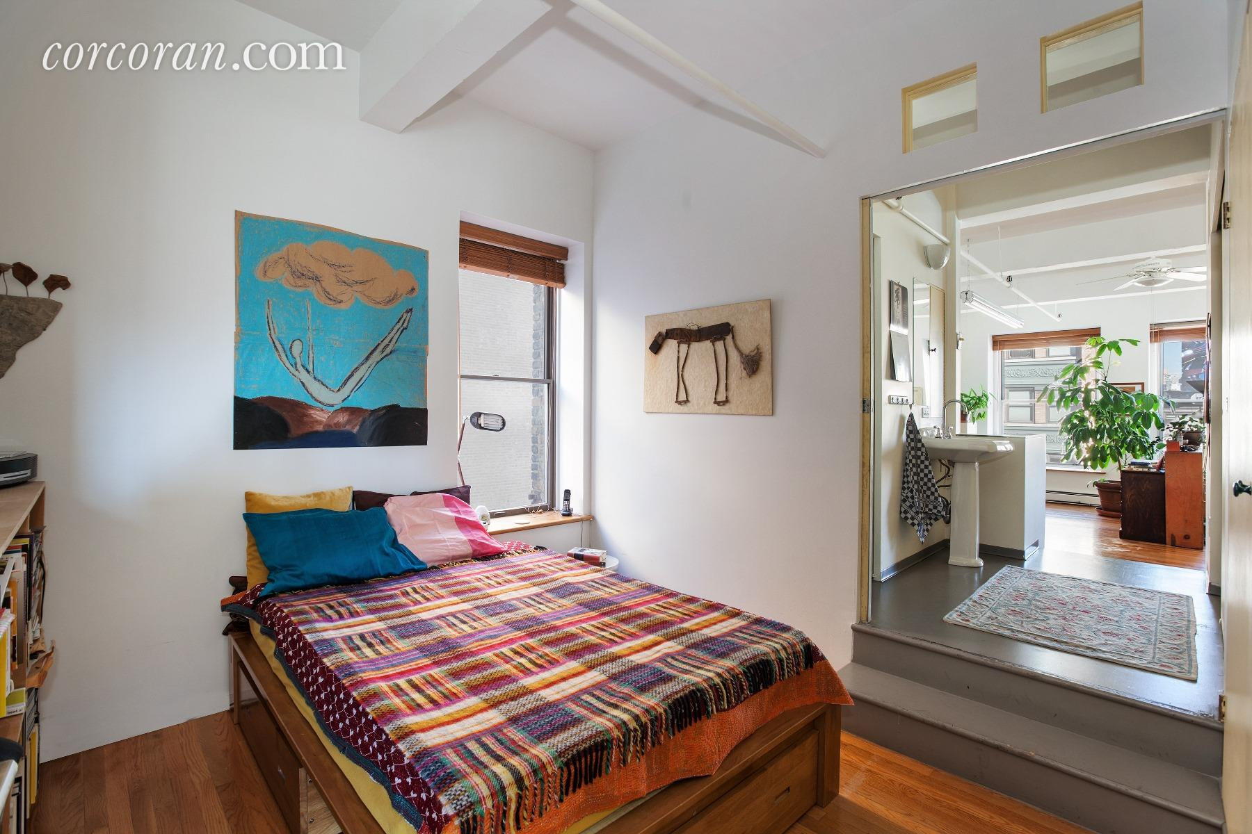 55 great jones street, master bedroom, co-op, noho