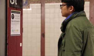 Angela Kim, scratch & sniff, subway, mta, transportation, city smells, guerilla art, scott stringer