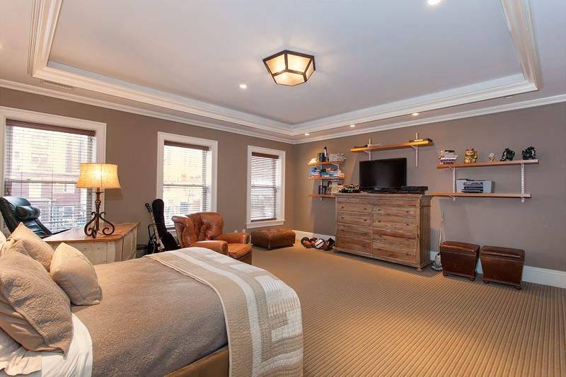 327 West 76th Street, bedroom, townhouse, mansion, upper west side