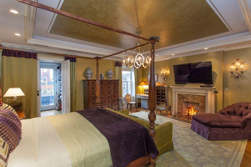 327 West 76th Street, bedroom, townhouse, mansion, upper west side, master bedroom