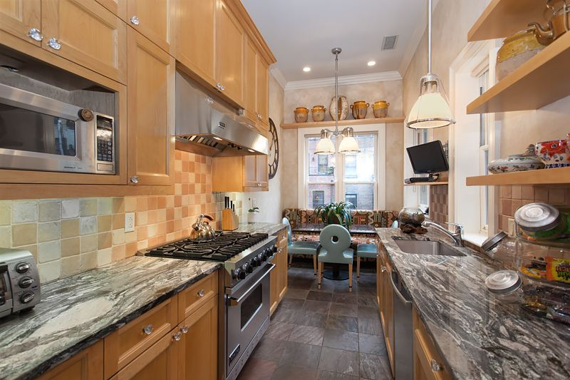 327 West 76th Street, kitchen, upper west side, riverside drive, townhouse, mansion