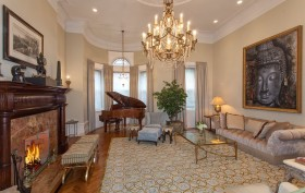 327 West 76th Street, upper west side, mansion, living room