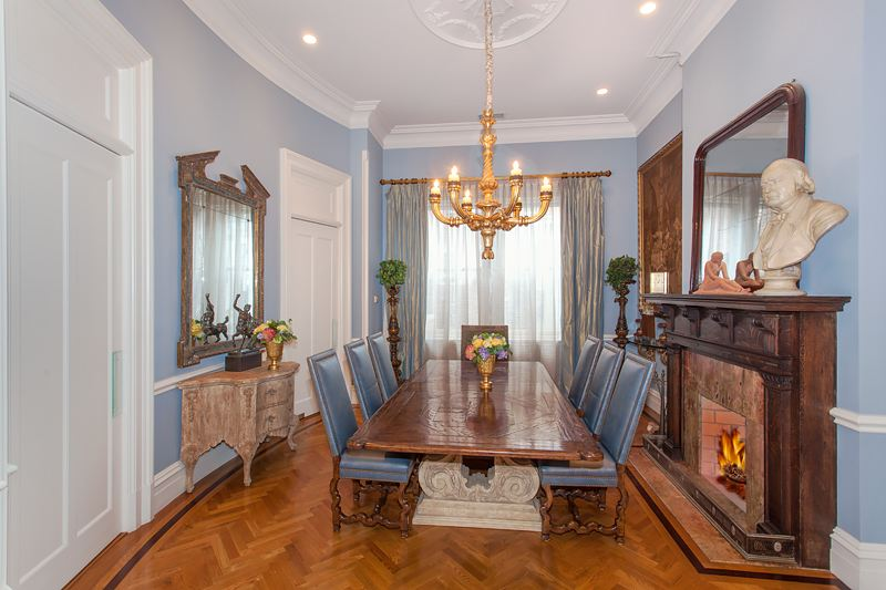 327 West 76th Street, dining room, upper west side